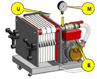 манометр фильтр пресс