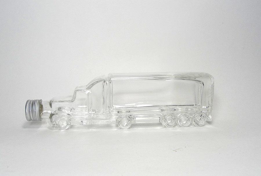 сувенирная бутылка из стекла машина